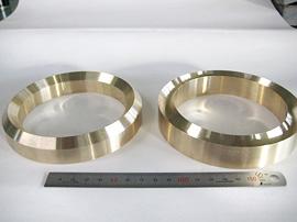 材質:BS 90°溝合せ加工の例